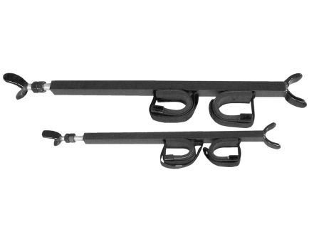 "Great Day Quickdraw Black Aluminum Overhead 2-Gun Rack, 23"" to 28"" - QD850-OGR"