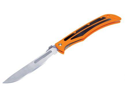 """Havalon Baracuta-Blaze Knife, 4.375"""", Bright Orange - XTC-115BLAZE"""