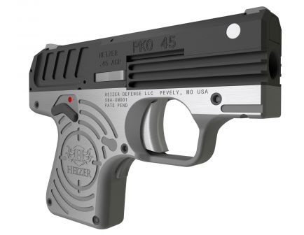 Heizer Defence PKO .45 ACP Semi-Automatic Pistol, Blk - CKH45BLK