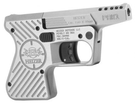 Heizer Defence PAK1 Pocket 7.62x39mm AK Pistol, Stainless - PAK1SS