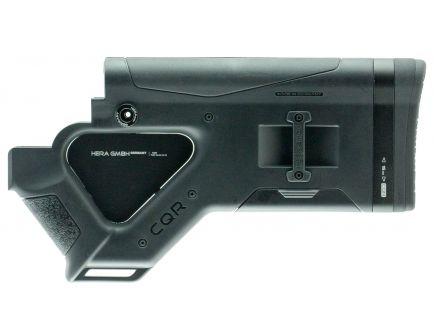Hera USA Reinforced Polymer Featureless CQR Buttstock, Black - 1212CA