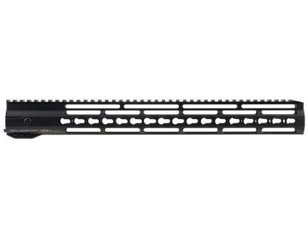 """Hera USA IRS Keymod 16.5"""" AR-15 Quad Rail Free Float Handguard, Black - 110509"""