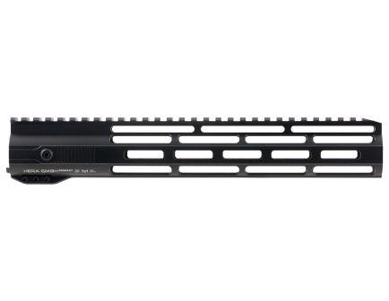 """Hera USA IRS M-LOK 12"""" AR-15 Quad Rail Free Float Handguard, Black - 110512"""