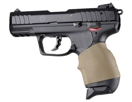 Hogue HandAll Jr. Grip Sleeve for Walther - P22, PK380, PPK, PPK/S, Steyr - M40, M9 Pistols, Flat Dark Earth - 18003