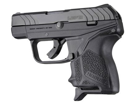 Hogue HandAll Beavertail Grip Sleeve for Ruger LCP II Pistol, Black - 18120