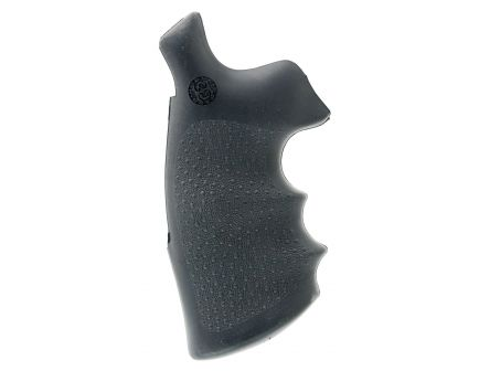 Hogue Conversion Monogrip w/ Finger Groove for S&W N Frame Round Butt Revolver, Black - 25002