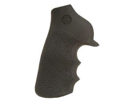 Hogue Tamer Grip w/ Finger Grooves for Ruger GP100/Super Redhawk Revolvers, Black - 80020