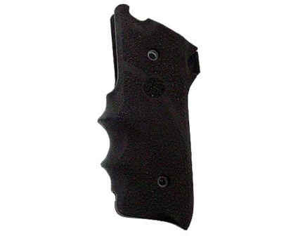 Hogue Grip w/ Finger Grooves for Ruger MK II, MK III Pistols, Black - 82000
