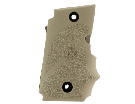 Hogue Pistol Grip w/ Finger Grooves for SIG Sauer P938 Ambi Safety, Flat Dark Earth - 98083