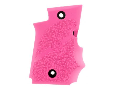 Hogue Pistol Grip w/ Finger Grooves for SIG Sauer P938 Ambi Safety, Pink - 98087