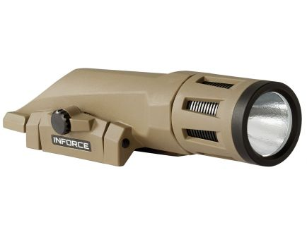 Inforce 700 lm LED Weapon Light, Flat Dark Earth - WX-06-2
