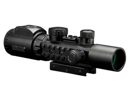 Konus USA KONUSPRO AS-34 2-6x28mm Dual Illuminated Engraved Mil-Dot Rifle Scope - 7170
