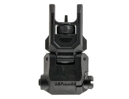 Kriss Defiance Low-Profile Front Flip Sight for AR Style Rifle - DA-PFSBL00