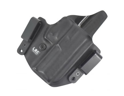 """Lag Tactical The Defender Right Hand Springfield XD Mod2 9/40 3"""" Inside and Outside the Waistband Combo Holster, Black - 3047"""