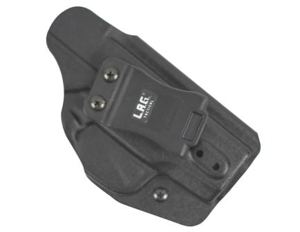 Lag Tactical The Liberator MKII Ambidextrous Hand Glock 43 Inside-The-Waistband Holster, Black - 70001