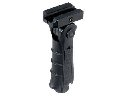 Leapers UTG Foldable Foregrip for AR-15/M-16 Rifles, Black - RB-FGRP170B