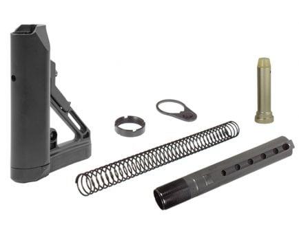 Leapers Ready S1 Mil-Spec Buttstock Kit, Black - RBUS1BM