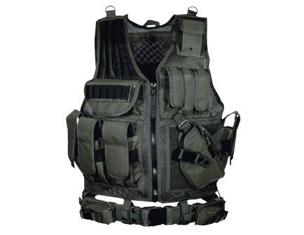 Leapers UTG 1680D Polyester Right Handed Vest, Black - PVCV547BT