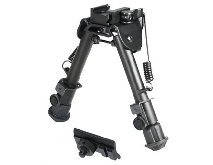 """Leapers UTG Tactical OP Quick Detach Bipod, 5.9"""" to 7.3"""" H - TLBP78Q"""