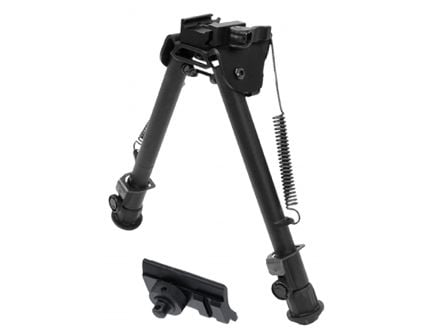 """Leapers UTG Tactical OP Quick Detach Bipod, 8"""" to 12.4"""" H - TLBP88Q"""