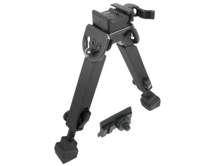 """Leapers UTG Rubber Armored Full Metal QD Bipod, 6"""" to 8.5"""" H - TLBP20QA"""