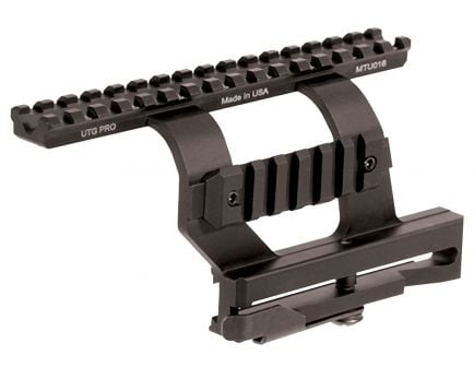 Leapers UTG Pro Aluminum Quick Detachable 2-Rail Scope Mount, Black - MTU016