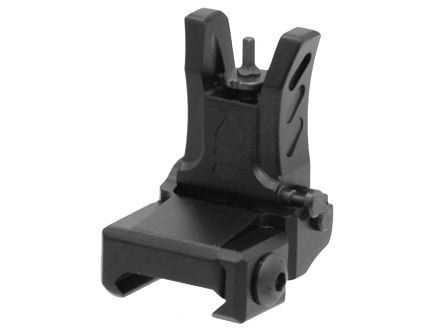 Leapers UTG Low-Profile Front 1-Piece Flip-Up Sight for AR-15 Style Rifle - MNT-755