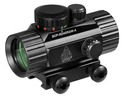 Leapers UTG 1x30mm Red/Green Circle Dot Sight w/ Integral Mount - SCPRD40RGW