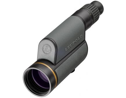 Leupold Golden Ring 12-40x60mm Straight HD Spotting Scope, Shadow Gray - 120371