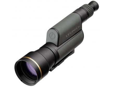 Leupold Golden Ring 20-60x80mm Straight HD Spotting Scope, Shadow Gray - 120376