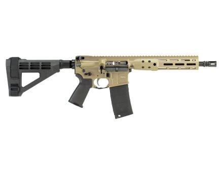 """LWRC IC DI 10.5"""" 5.56 Semi-Auto AR-15 Pistol M-Lok Rail, FDE - ICDIP5CK10MLBR"""