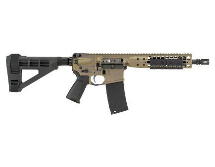"LWRC IC DI 10.5"" 5.56 Semi-Auto AR-15 Pistol, FDE - ICDIP5CK10BR"