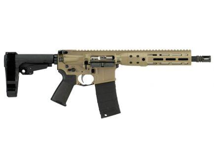 "LWRC IC DI 10.5"" .300 Blackout Semi-Auto AR-15 Pistol, FDE - ICDIP3CK10MLSBA3"