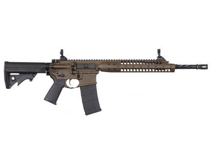 "LWRC IC-A5 14.7"" .223 Rem/5.56 Semi-Automatic AR-15 Rifle, Patriot Brown - ICA5RPBC14P"