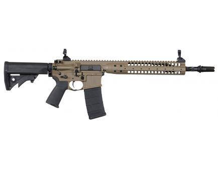 LWRC International Individual Carbine SPR .223 Rem/5.56 Semi-Automatic AR-15 Rifle, Patriot Brown - ICR5PBC14PSP