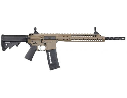 LWRC SIX8-A5 6.8mm SPC II Semi-Automatic AR-15 Rifle, FDE