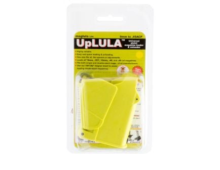 Maglula UpLULA 9mm to .45 ACP Polymer Universal Pistol Magazine Loader, Lemon - UP60L