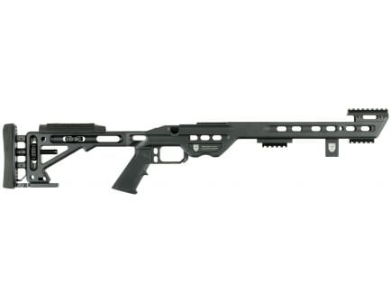 Masterpiece Arms BA Lite 6061 Aluminum Right Hand Ultra Lite Chassis, Black Cerakote - BALITEREMSA