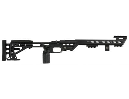 Masterpiece Arms BA Competition 6061 Aluminum Right Hand Chassis, Black Cerakote - BACOMPREMSA