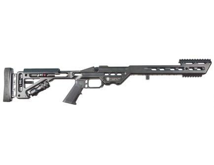 Masterpiece Arms BA 6061 Aluminum Right Hand Chassis for Remington 700 Short Action Rifles, Black Cerakote - BAREMSA