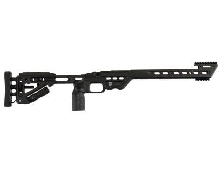 Masterpiece Arms BA 6061 Aluminum Right Hand Chassis for Remington 700 Long Action Rifles, Black Cerakote - BAREMLA