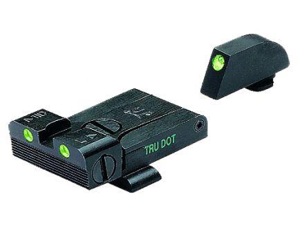 Meprolight Tru-Dot Self Illuminated Adjustable Front/Rear Night Sight Set for Glock 17, 19-23 Pistols - ML20224