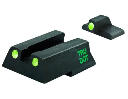 Meprolight Self Illuminated Fixed Front/Rear Night Sight Set for HK 45, 45 Compact, VP9, SFP9, P30, P30SK Pistols - ML11545