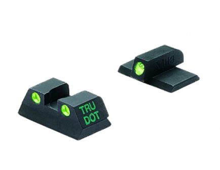 Meprolight Self Illuminated Fixed Front/Rear Night Sight Set for Kahr K, MK, P, PM, T, TP K9/40/45 Pistols - ML15120