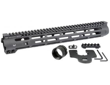 "Midwest Industries M-LOK/MI Slim Line 14"" AR-15 1-Piece Free Float Handguard - MI-SLH14"