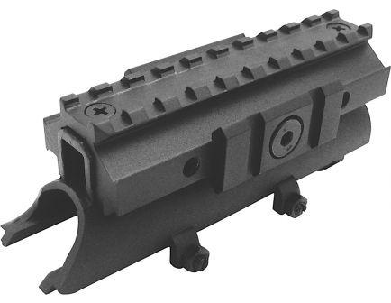 """NcStar SKS 4.8"""" Steel Tri-Rail Receiver Cover, Black - MTSKS"""
