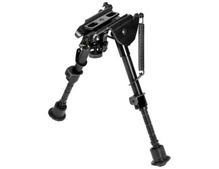 "NcStar Precision Grade Compact Notch Bipod w/ Notched Legs, 5.5"" to 8"" H - ABPGC2"