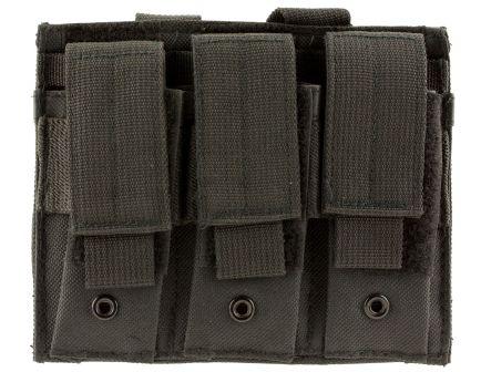 NcStar VISM Triple Pistol Magazine Pouch, Black - CVP3P2932B