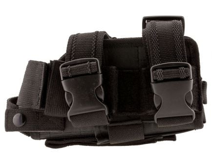 NcStar Right Hand Full Size/Compact Semi-Auto Universal Drop Leg Holster, Black - CVDLHOL2954-B