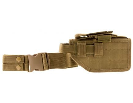 NcStar Right Hand Full Size/Compact Semi-Auto Universal Drop Leg Holster, Tan - CVDLHOL2954-T